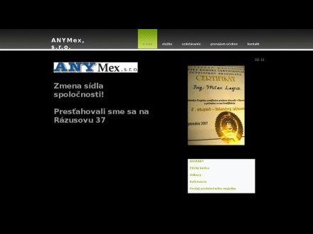 www.anymex.sk