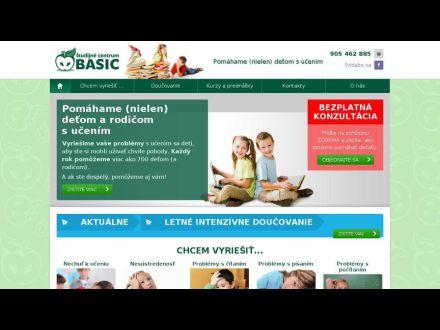 www.centrumbasic.sk/