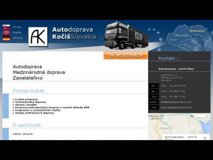 www.autodopravakocis.sk