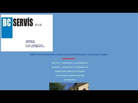 www.bcservis.sk