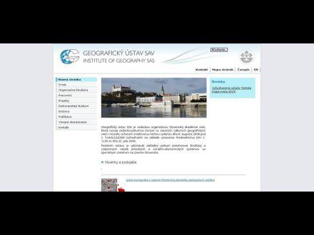 www.geography.sav.sk