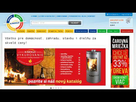 www.kinekus.sk