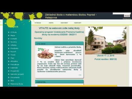 zsppmatejovce.edupage.org