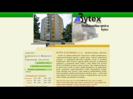 www.bytex.sk