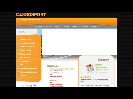 www.cassosport.sk