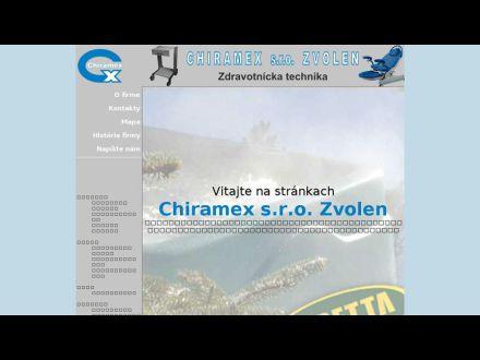 www.chiramex.sk