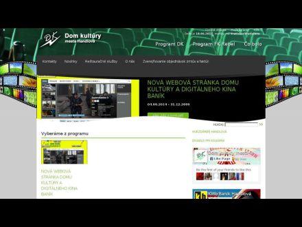 www.dkhandlova.sk