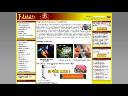 www.obchod.edison.sk