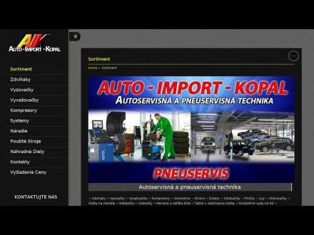 www.auto-import-kopal.sk