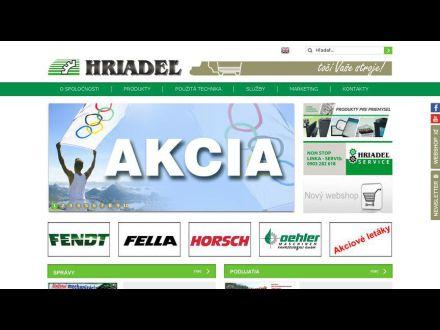 www.hriadel.sk