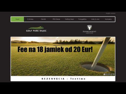 www.golfparkrajec.sk