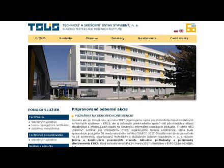 www.tsus.sk