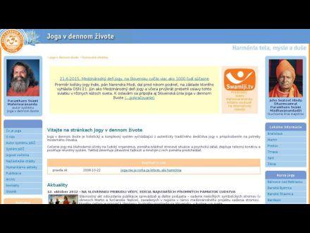 www.jogavdennomzivote.sk