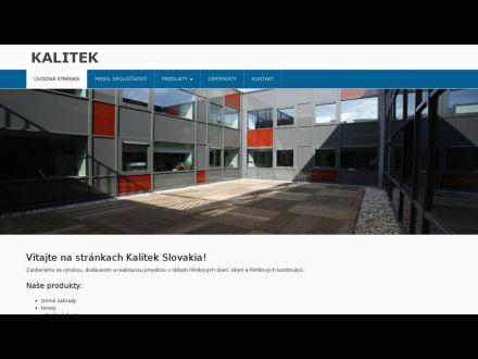 www.kalitek.sk