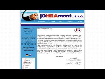 www.johramont.sk