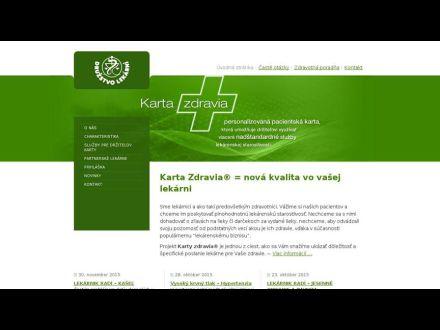 www.kartazdravia.sk