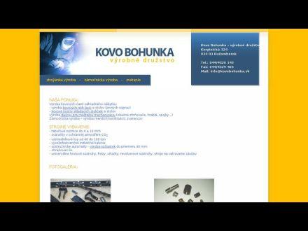 www.kovobohunka.sk