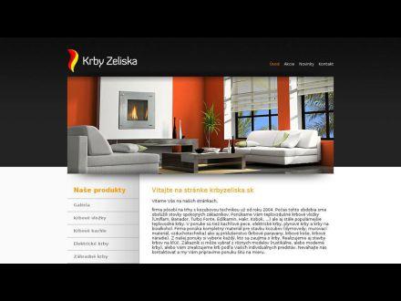 www.krbyzeliska.sk