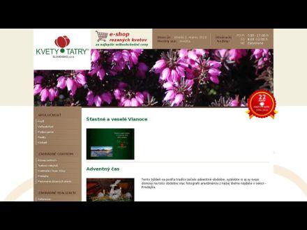 www.kvetytatry.sk