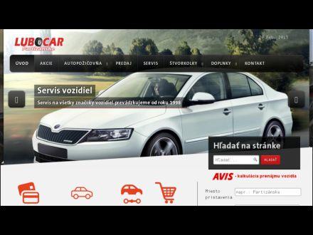 www.lubocar.sk