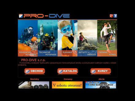 www.pro-dive.sk