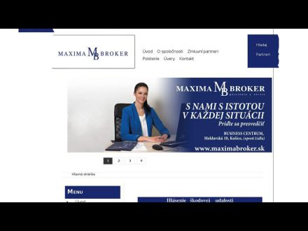www.maximabroker.sk
