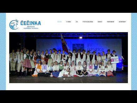 www.cecinka.sk