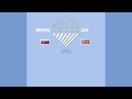www.menorah.sk