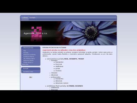 www.agentura2000.sk
