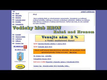 www.vk-hron.sk