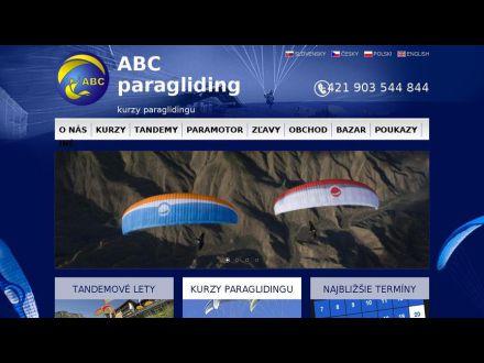 www.abcparagliding.sk