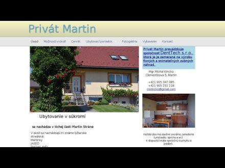 www.privat-martin.sk