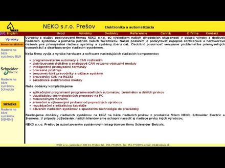 www.nekopo.sk