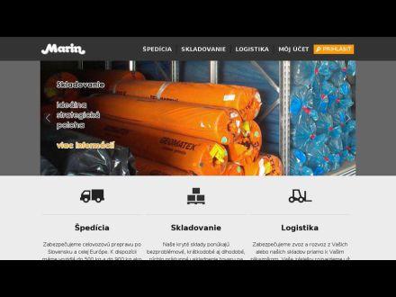 www.marin.sk