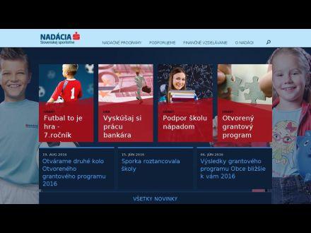 www.nadaciaslsp.sk