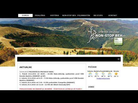 www.nonstopbehnt.sk