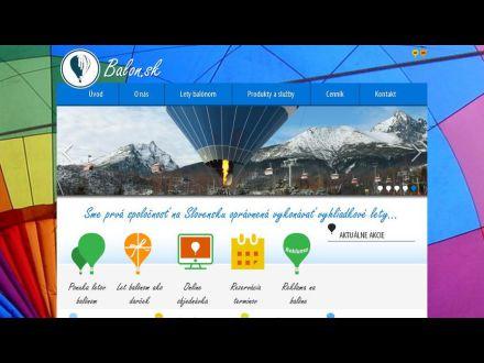 www.balon.sk