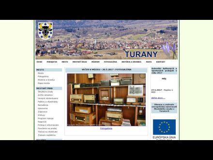 www.turany.sk