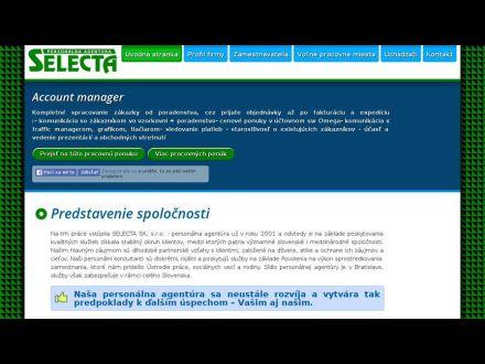 www.selecta.sk