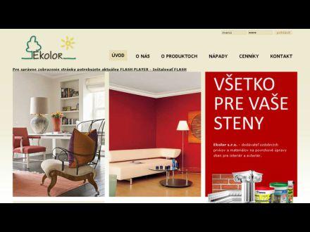 www.ekolor.sk