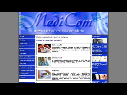 www.medicom.sk