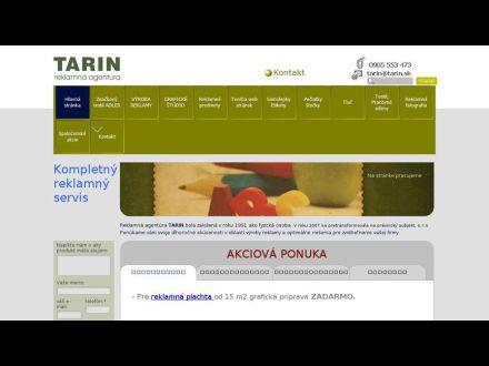 www.tarin.sk