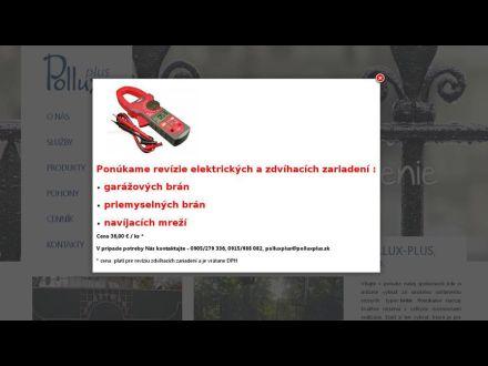 www.polluxplus.sk