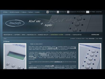 www.onesoft.sk