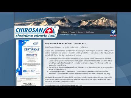www.chirosan.sk