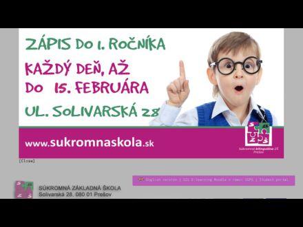 www.sukromnaskola.sk/zs