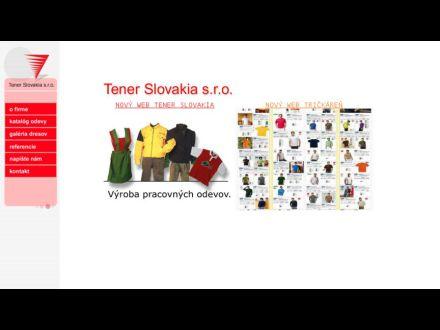 www.tener.sk