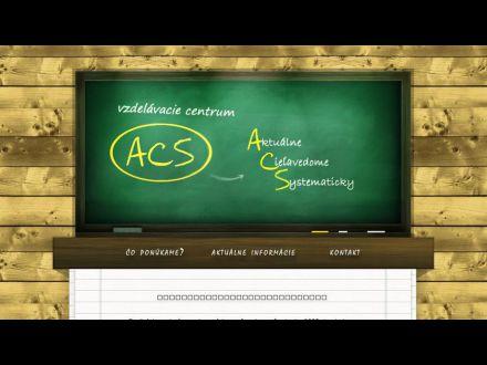 www.acscentrum.sk