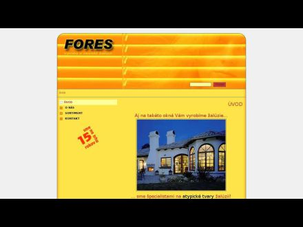 www.fores.sk