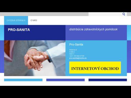 www.pro-sanita.sk